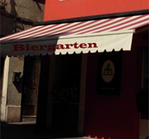 Biergarten Markise